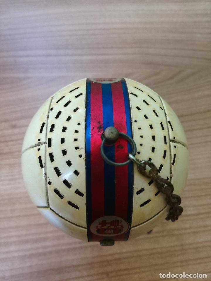 Coleccionismo deportivo: ANTIGUO TRANSISTOR DEL CLUB DE FUTBOL BARCELONA - ANTIGUA RADIO LLAVERO MUY RARA - Foto 11 - 174702302