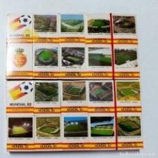 Coleccionismo deportivo: LOTE DE 20 CAJAS DE CERILLAS. MUNDIAL 82. FOSFORERA ESPAÑOLA. VER FOTOS.. Lote 175182453