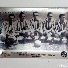 Coleccionismo deportivo: CENICERO DE LA TIENDA DE TELMO ZARRA Y RAFAEL IRIONDO - ATHLETIC CLUB DE BILBAO - 1958 - IRIZARRA -. Lote 175345599