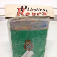 Coleccionismo deportivo: ANTIGUA RARA HUCHA DE BOLSILLO CLUB DEPORTIVO ESPAÑOL. Lote 175726950