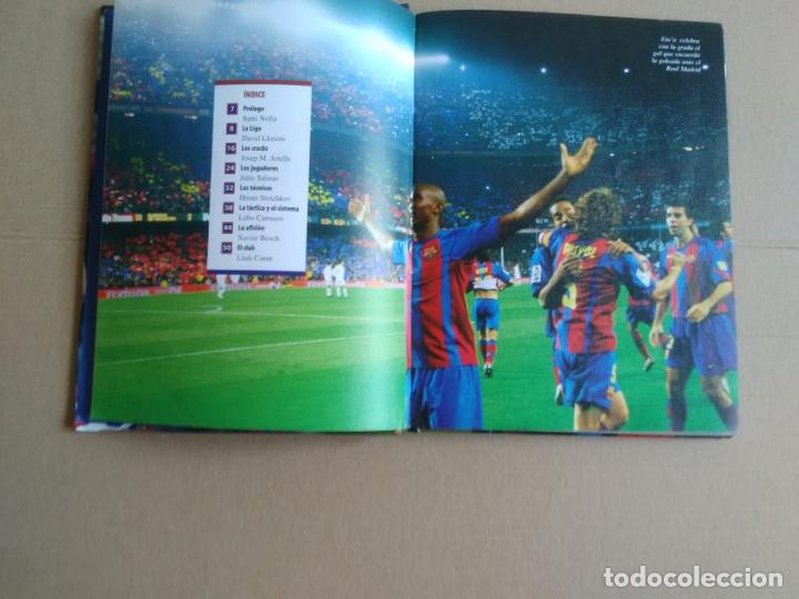 Coleccionismo deportivo: LIBRO Y DVD BARCELONA 04-05 BARÇA CAMPEONES LIGA FÚTBOL 2004-2005 MUNDO DEPORTIVO Y COCA-COLA - Foto 3 - 175814182