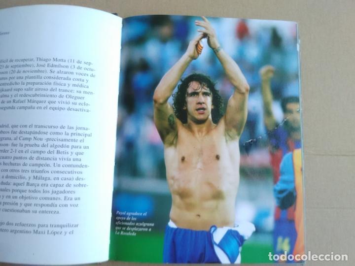 Coleccionismo deportivo: LIBRO Y DVD BARCELONA 04-05 BARÇA CAMPEONES LIGA FÚTBOL 2004-2005 MUNDO DEPORTIVO Y COCA-COLA - Foto 5 - 175814182