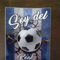 Coleccionismo deportivo: PEGATINA SOY DEL REAL SOCIEDAD.. Lote 176084114