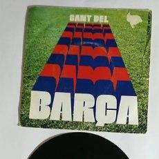 Coleccionismo deportivo: VINILO 45 R.P.M / CANT DEL BARÇA FCBARCELONA / 75 ANIVERSARIO / 1975. Lote 176388745