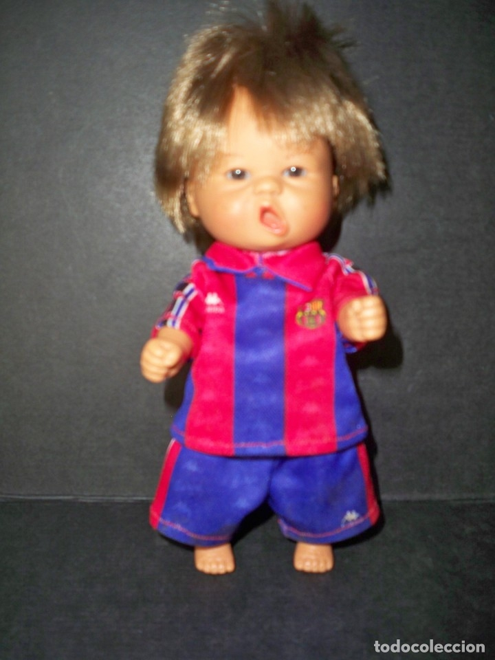 MUÑECO D´NENES ONIL BARÇA BARCELONA ROPA KAPPA NENES (Coleccionismo Deportivo - Merchandising y Mascotas - Futbol)