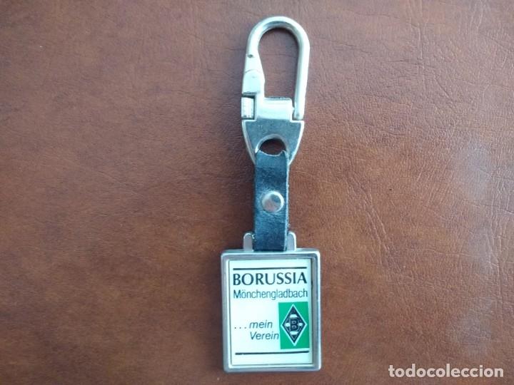 CURIOSO LLAVERO DEL EQUIPO DE FUTBOL BORUSSIA MÖNCHENGLADBACH (ALEMANIA) (Coleccionismo Deportivo - Merchandising y Mascotas - Futbol)