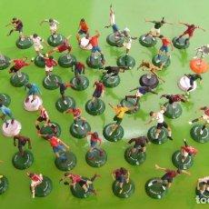 Coleccionismo deportivo: LOTE 53 FIGURAS DE FUTBOL EN ACCION PVC FTCHAMPS, 5-6 CM. Lote 177012745