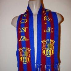 Coleccionismo deportivo: BUFANDA FUTBOL CLUB BARCELONA. Lote 177585840