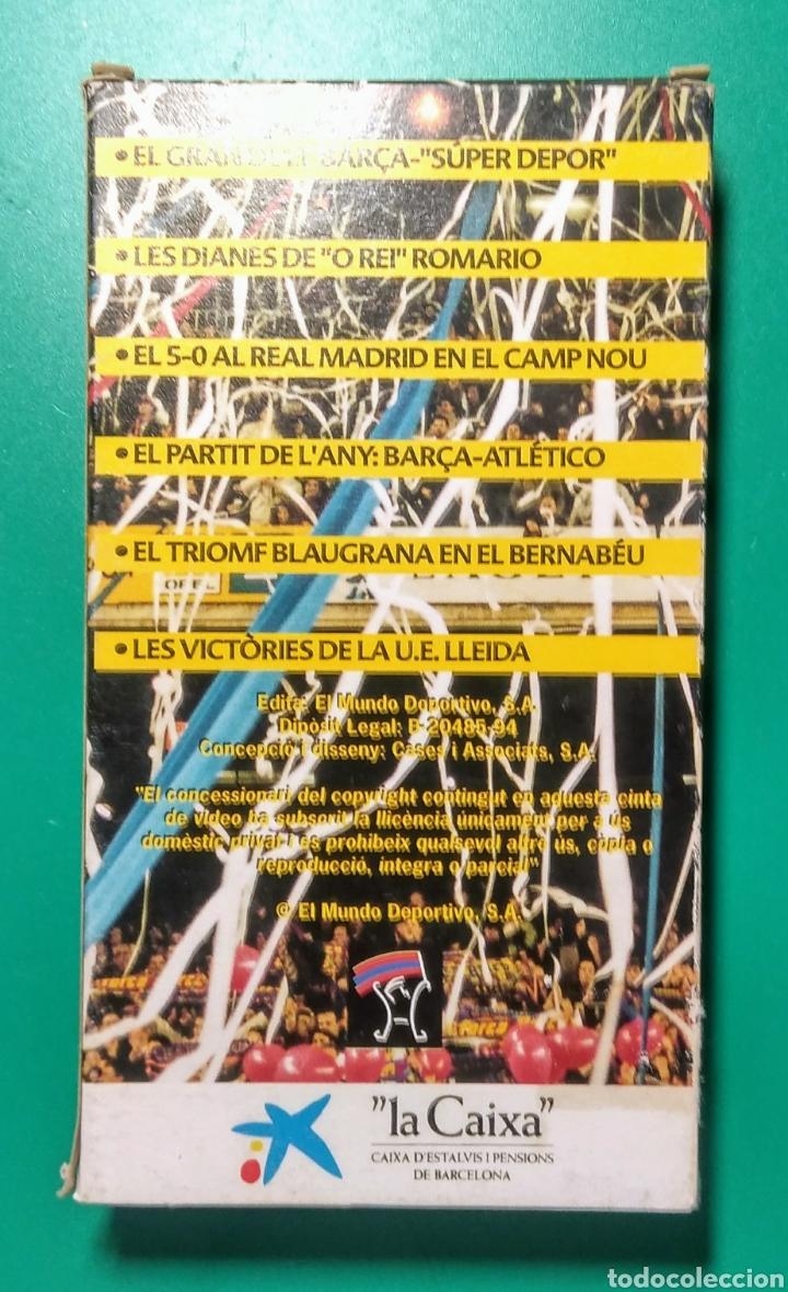 Coleccionismo deportivo: Vídeo VHS. Super Lliga Barça. 1993-94. - Foto 2 - 177625459