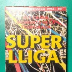 Coleccionismo deportivo: VÍDEO VHS. SUPER LLIGA BARÇA. 1993-94.. Lote 177625459