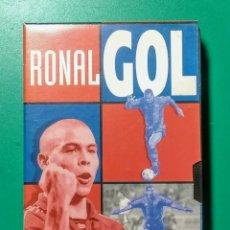 Coleccionismo deportivo: VÍDEO VHS. RONALGOL. 1997. EL MUNDO DEPORTIVO.. Lote 177625574