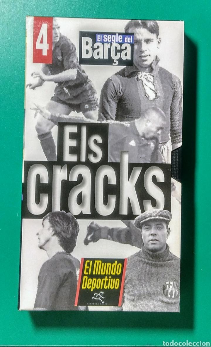 Coleccionismo deportivo: 5 Vídeos VHS. El Segle del Barça. 1997. - Foto 5 - 177684837