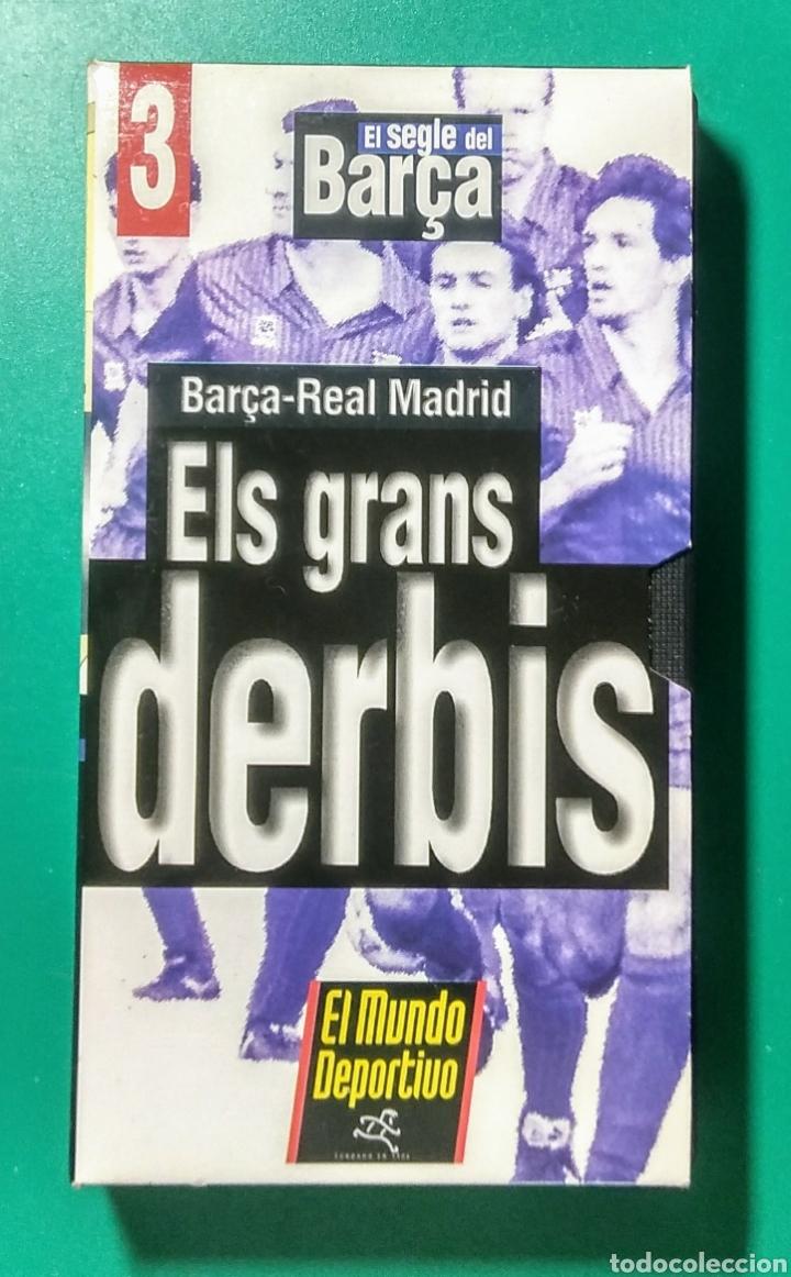 Coleccionismo deportivo: 5 Vídeos VHS. El Segle del Barça. 1997. - Foto 4 - 177684837
