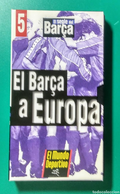 Coleccionismo deportivo: 5 Vídeos VHS. El Segle del Barça. 1997. - Foto 6 - 177684837