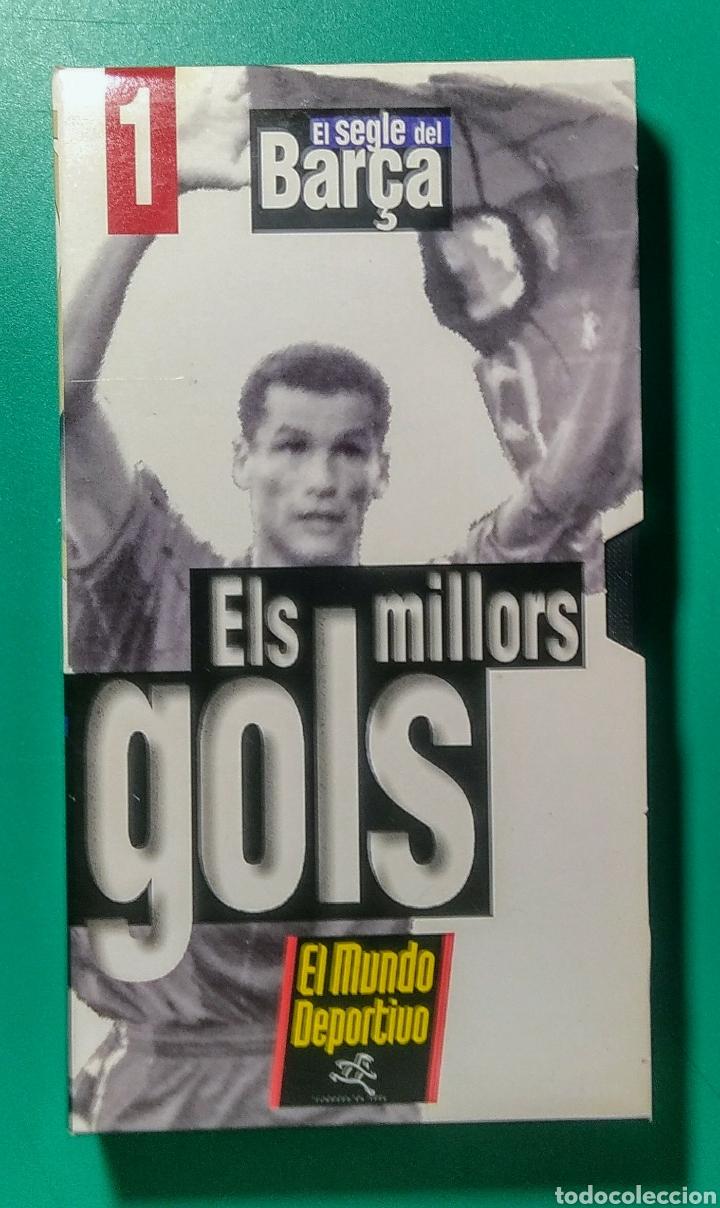 Coleccionismo deportivo: 5 Vídeos VHS. El Segle del Barça. 1997. - Foto 2 - 177684837
