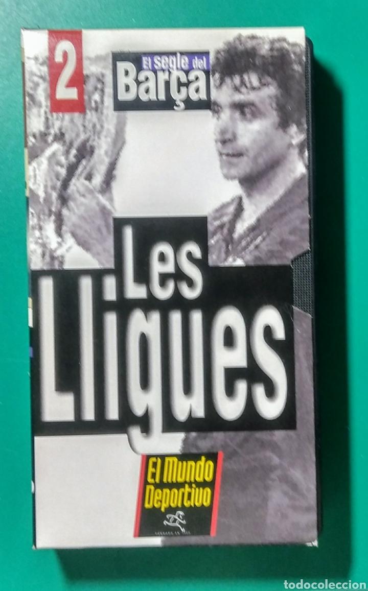Coleccionismo deportivo: 5 Vídeos VHS. El Segle del Barça. 1997. - Foto 3 - 177684837