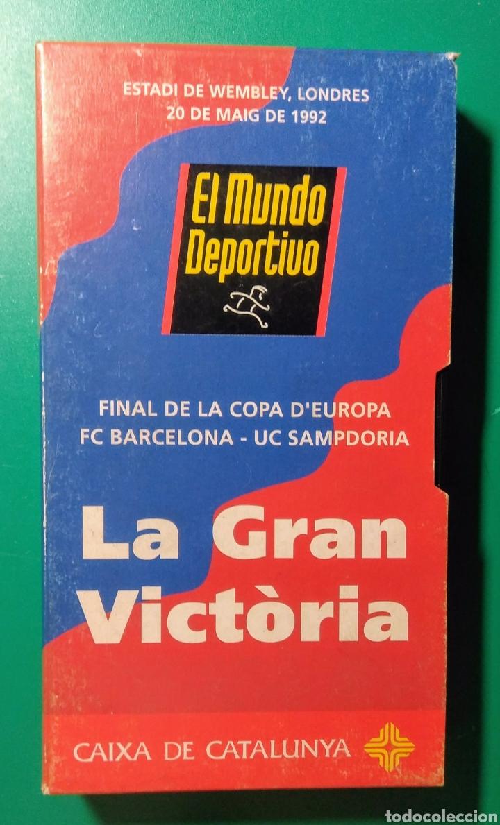 Coleccionismo deportivo: Video VHS. La Gran Victoria. 1992. - Foto 2 - 177686599