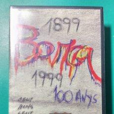 Coleccionismo deportivo: VÍDEO VHS OFICIAL DEL CENTENARI. BARÇA. 1999.. Lote 177755478