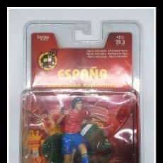 Coleccionismo deportivo: FIGURA PVC FTCHAMPS JUGADOR DE FÚTBOL SELECCIÓN ESPAÑOLA RAÚL 7 FT CHAMPS. Lote 177803409