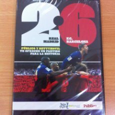 Coleccionismo deportivo: DVD FÚTBOL - LIGA 2008-2009 - REAL MADRID VS FC BARCELONA 2 - 6. PRECINTADO. Lote 177953863