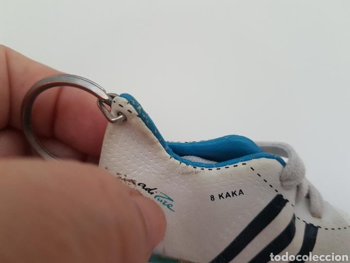 Coleccionismo deportivo: 8 Llaveros botas futbol. Iker Casillas, Messi, Villa, Xavi, etc... Marca. - Foto 4 - 178078302