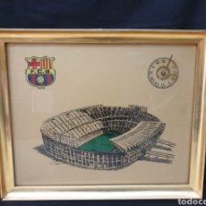 Coleccionismo deportivo: RELOJ CAMPO DEL FC.BARCELONA. Lote 178190832
