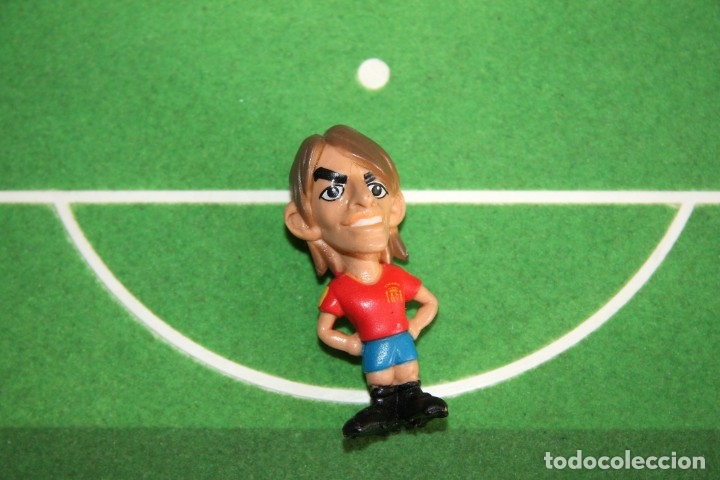Coleccionismo deportivo: Spanistoon - 15 Figuras Selección Española + Balón - Colección MARCA - Mundial Alemania 2006 - Foto 4 - 49132401