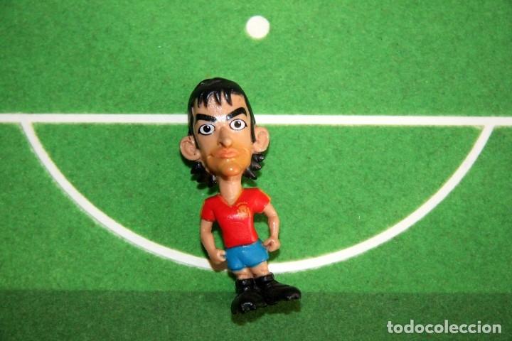 Coleccionismo deportivo: Spanistoon - 15 Figuras Selección Española + Balón - Colección MARCA - Mundial Alemania 2006 - Foto 6 - 49132401