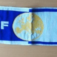 Coleccionismo deportivo: BUFANDA GETAFE CLUB DE FÚTBOL FASE GRUPO UEFA EUROPA LEAGUE 2019-2020 TRABZONSPOR BASILEA KRASNODAR. Lote 178915925