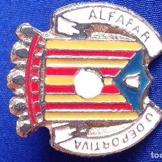 Coleccionismo deportivo: UNION DEPORTIVA ALFAFAR- PIN FUTBOL. Lote 179147420
