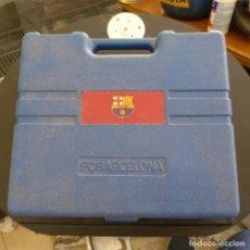 Coleccionismo deportivo: MALETIN DE HERRAMIENTAS DEL F. C. BARCELONA. Lote 179237845