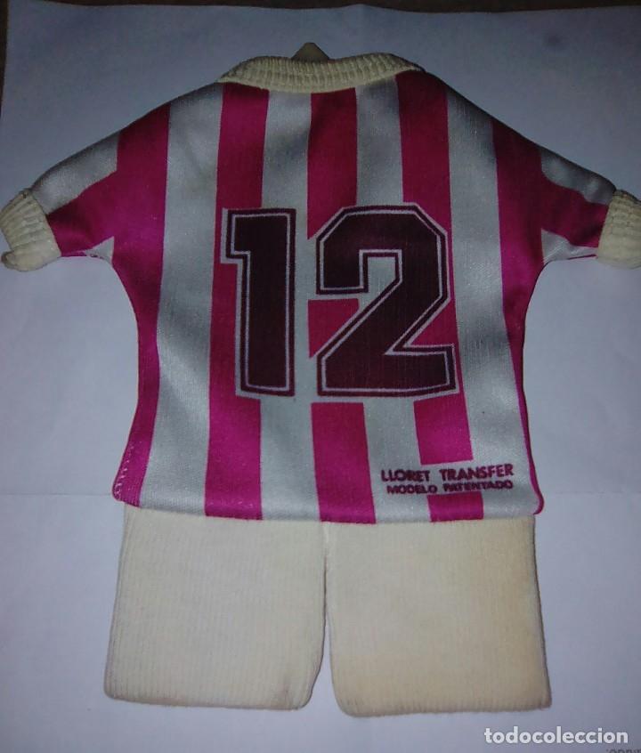 Coleccionismo deportivo: Camiseta Real Valladolid para colgar en coche. Años 80. - Foto 2 - 179253470