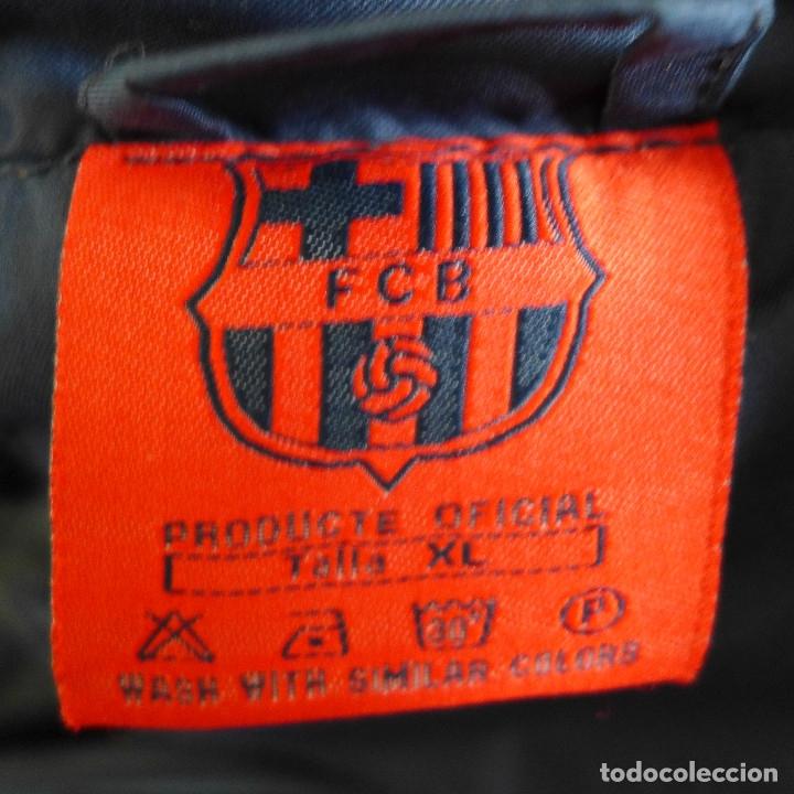 Coleccionismo deportivo: CHAQUETON DEL F. C. BARCELONA PRODUCTO OFICIAL TALLA XL - Foto 4 - 179298090