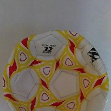 Coleccionismo deportivo: BALON DE FUTBOL EUROPEAN 32 PANEL OFICIAL MATCH FALTA HINCHAR. Lote 179339785