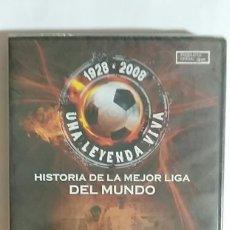 Coleccionismo deportivo: DVD PRECINTADO 1928 2008 UNA LEYENDA VIVA 1950 1955 DI STEFANO CONTRA KUBALA PRODUCTO OFICIAL. Lote 180043216