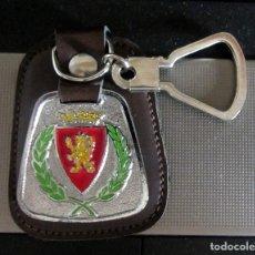 Coleccionismo deportivo: LLAVERO REAL ZARAGOZA CAMPEON LIGA 1977-78 FUTBOL. Lote 180236850