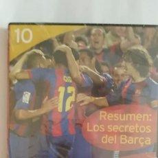 Coleccionismo deportivo: DVD PRECINTADO LA CLASE DEL BARÇA Nº10 RESUMEN: LOS SECRETOS DEL BARÇA F.C.BARCELONA. Lote 180286535