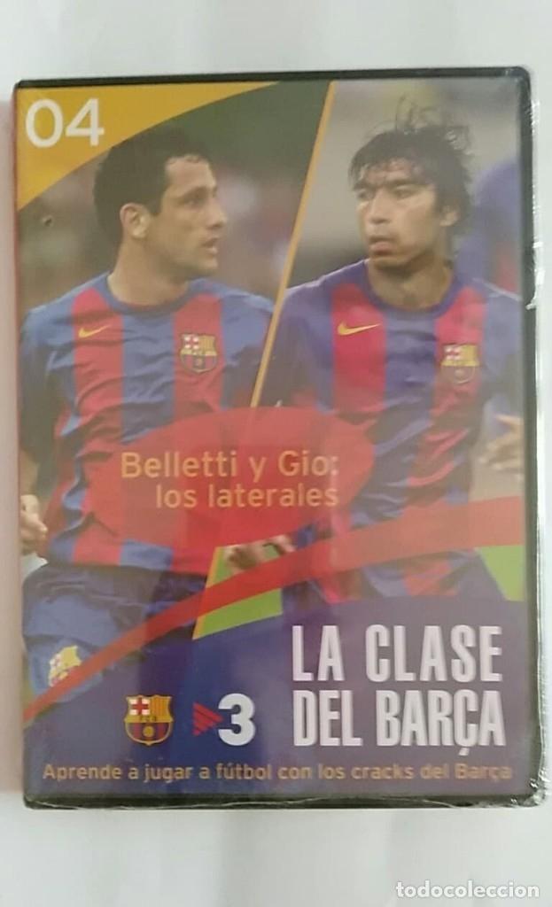 DVD PRECINTADO LA CLASE DEL BARÇA Nº04 BELLETTI Y GIO: LOS LATERALES F.C.B (Coleccionismo Deportivo - Merchandising y Mascotas - Futbol)