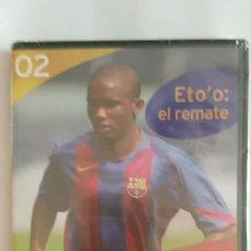 Coleccionismo deportivo: DVD PRECINTADO LA CLASE DEL BARÇA Nº02 ETO'O: EL REMATE F.C.B. Lote 180287827