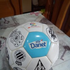 Coleccionismo deportivo: BALÓN DANONE DANET/LIGA SANTANDER. Lote 181587165