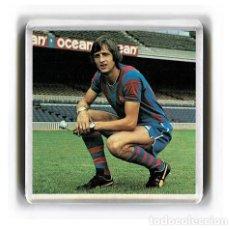 Coleccionismo deportivo: IMAN ACRILICO NEVERA - FUTBOL JOHAN CRUYFF. Lote 181955620