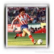 Coleccionismo deportivo: IMAN ACRILICO NEVERA - FUTBOL PAULO FUTRE. Lote 181955651