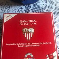 Coleccionismo deportivo: JUEGO DE MESA ESPECIAL CENTENARIO SEVILLA FC EDICIÓN ESPECIAL NUMERADA PENTAGOX. Lote 182104532