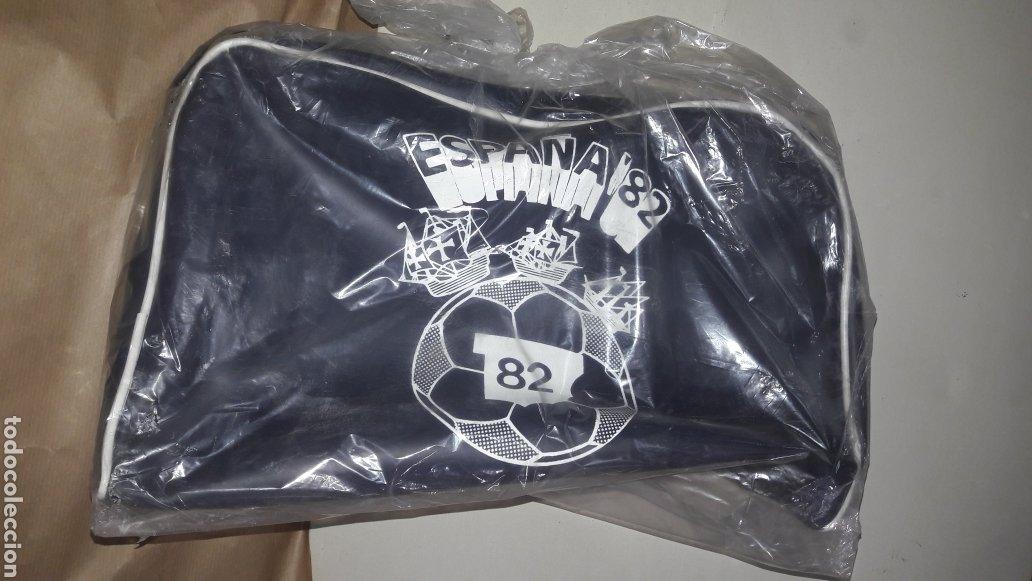 MUNDIAL FÚTBOL ESPAÑA 82 NARANJITO BOLSO DEPORTIVO ORIGINAL SIN USAR (Coleccionismo Deportivo - Merchandising y Mascotas - Futbol)
