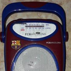 Coleccionismo deportivo: RADIO FC BARCELONA BARÇA FUCIONA RADIO PEQUEÑA. Lote 182527195