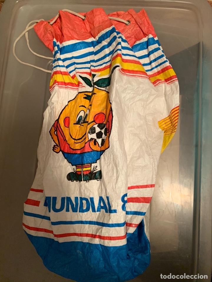 BOLSA PETATE DE NARANJITO (Coleccionismo Deportivo - Merchandising y Mascotas - Futbol)