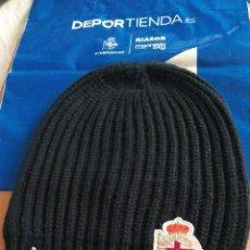 Coleccionismo deportivo: GORRO OFICIAL LOTTO DEL REAL CLUB DEPORTIVO DE LA CORUÑA. Lote 183493053