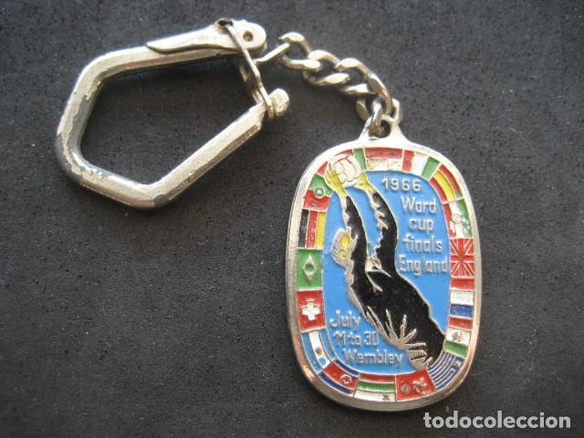 LLAVERO CAMPEONATO MUNDIAL FUTBOL INGLATERRA 1966 (Coleccionismo Deportivo - Merchandising y Mascotas - Futbol)