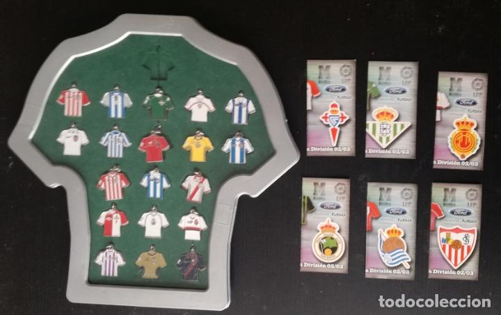 COLECCION DE LLAVEROS: LAS CAMISETAS OFICIALES DE PRIMERA DIVISION 2002-03, DIARIO MARCA - FALTA 1 (Coleccionismo Deportivo - Merchandising y Mascotas - Futbol)