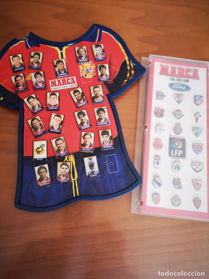 PIN DE LOS EQUIPOS DE FÚTBOL Y DE JUGADORES. TP. 2000 (Coleccionismo Deportivo - Merchandising y Mascotas - Futbol)